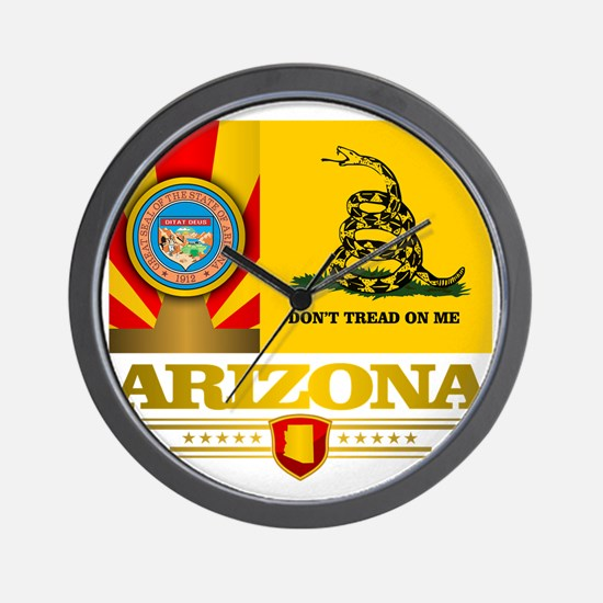 Arizona Gadsden Flag Wall Clock