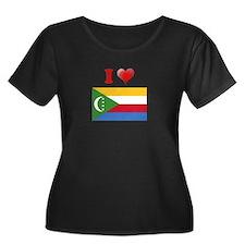 I love Comoros Flag T