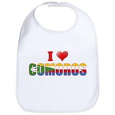 I love Comoros Bib