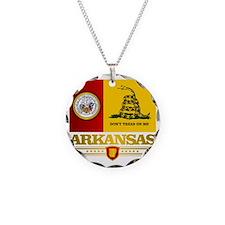 Arkansas Gadsden Flag Necklace