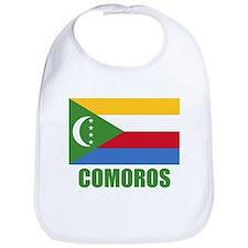 Comoros Flag Bib