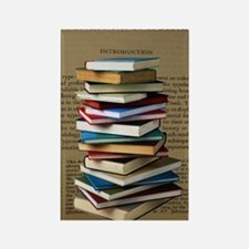 Book Lovers Blanket 2 Rectangle Magnet