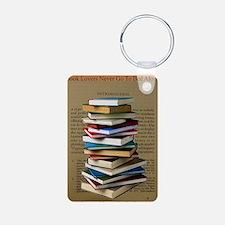 Book Lovers Blanket 2 Keychains
