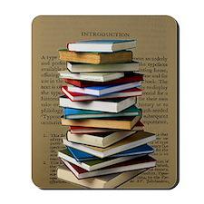 Book Lovers Blanket 2 Mousepad