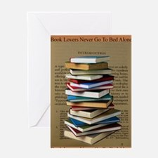 Book Lovers Blanket 2 Greeting Card