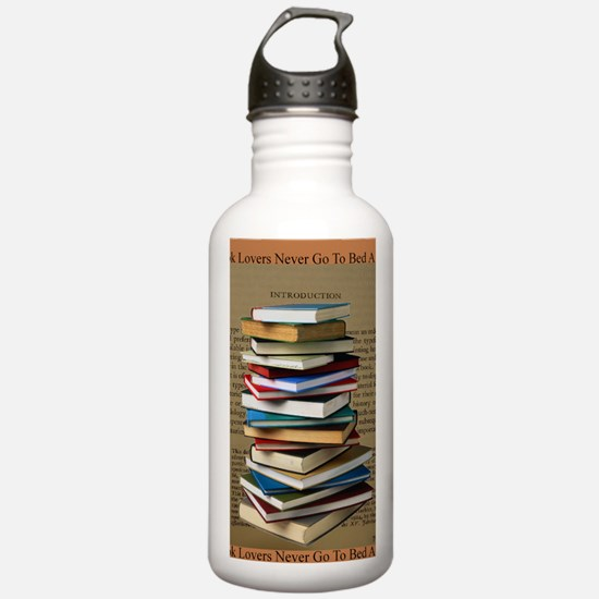 Book Lovers Blanket 2 Water Bottle