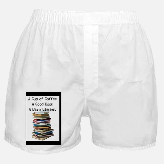 Book Lovers Blanket 3 Boxer Shorts