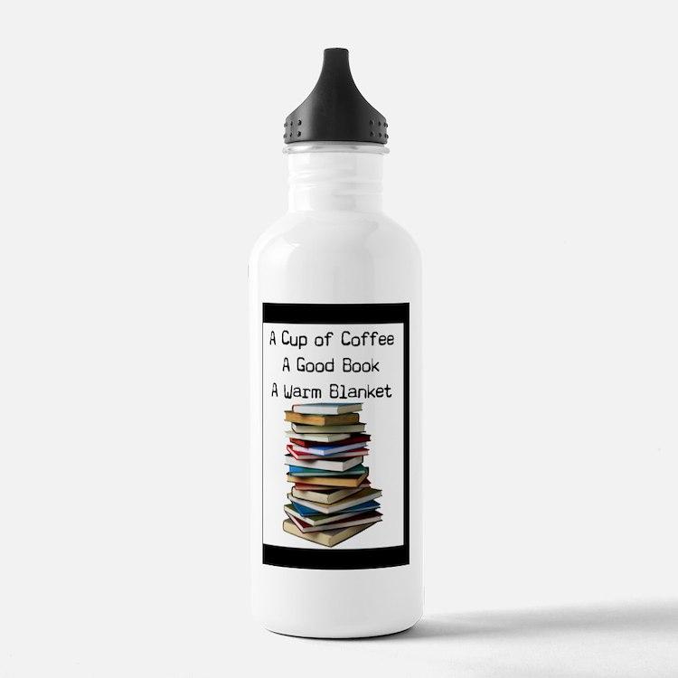 Book Lovers Blanket 3 Water Bottle