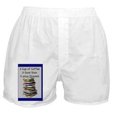 book lovers blanket 4 Boxer Shorts
