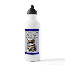 book lovers blanket 4 Water Bottle