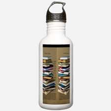 Book Lovers Flip Flops Sports Water Bottle