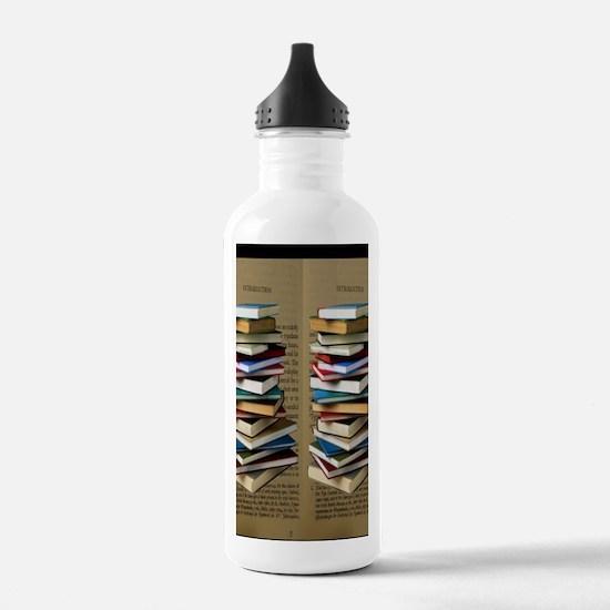 Book Lovers Flip Flops Water Bottle