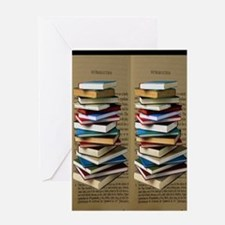 Book Lovers Flip Flops Greeting Card