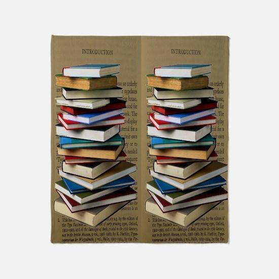 Book Lovers Flip Flops Throw Blanket