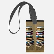 Book Lovers Flip Flops Luggage Tag