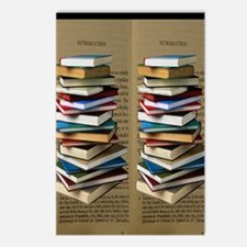 Book Lovers Flip Flops Postcards (Package of 8)