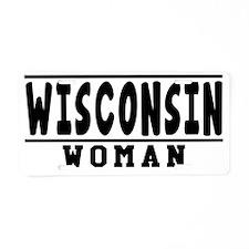 Wisconsin Woman Designs Aluminum License Plate
