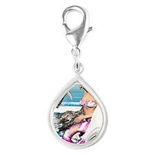 m_iphone_4_slider_case Silver Teardrop Charm