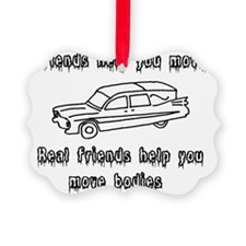 Hearses and friends Ornament