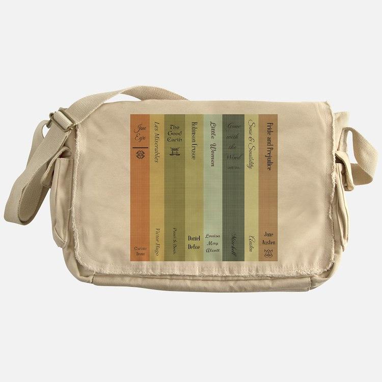 Book Lovers Messenger Bag