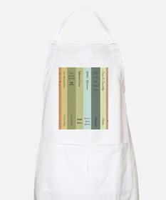 Book Lovers Personalized Shower Curtain Apron