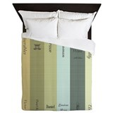 Book lovers Queen Duvet Covers