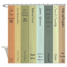 book lovers personalized  Shower Curtain