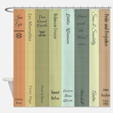 Book Lovers Shower Curtain