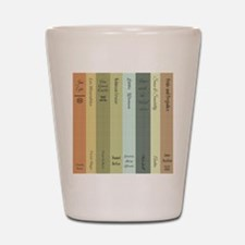 Book Lovers Shot Glass