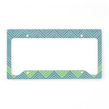 Zigzag License Plate Holder
