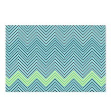 Zigzag Postcards (Package of 8)