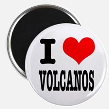 "I Heart (Love) Volcanos 2.25"" Magnet (10 pack)"