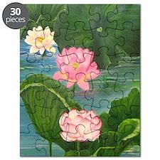 Lotus Pond Puzzle