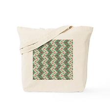 ethnic chevron Tote Bag