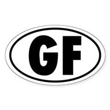 GF Oval Decal