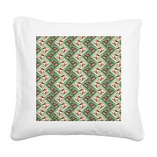 ethnic chevron Square Canvas Pillow