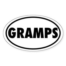 GRAMPS Oval Decal
