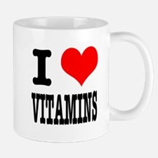 I Heart (Love) Vitamins Mug
