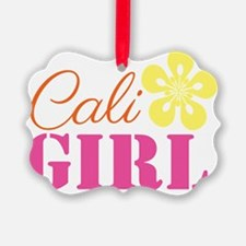 Cali Girl Ornament