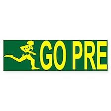 GO PRE Bumper Car Sticker