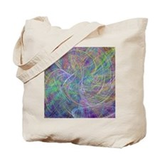 Heart of Light – Abstract Flames Swirls Tote Bag