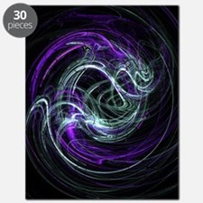 Light Within, Abstract Swirls Puzzle