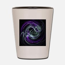 Light Within, Abstract Swirls Shot Glass