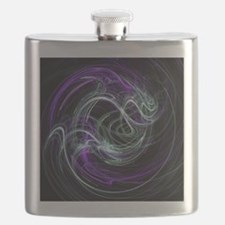Light Within, Abstract Swirls Flask