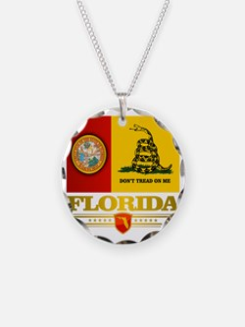 Florida Gadsden Flag Necklace