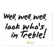 Treble Pun Postcards (Package of 8)