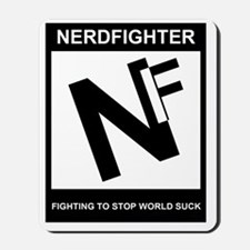 NerdFighter Rating Mousepad