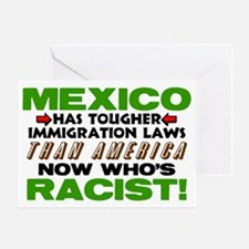 Now Whos Racist! Greeting Card