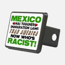 Now Whos Racist! Hitch Cover