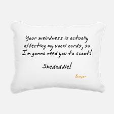 Your Weirdness Rectangular Canvas Pillow